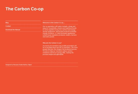 The Carbon Co-op